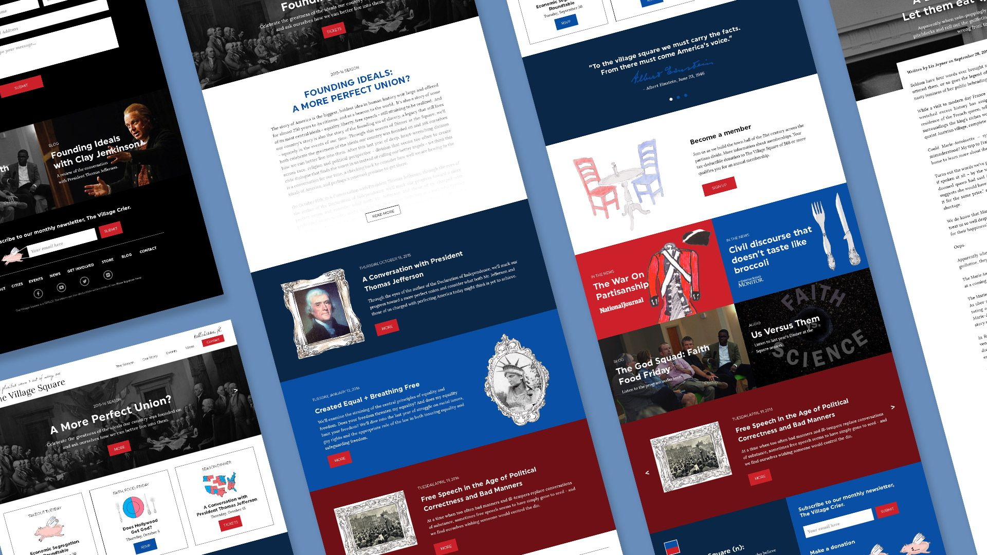 Village Square Web Design